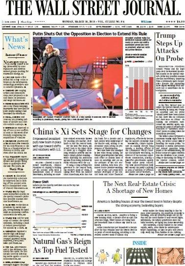 The Wall Street Journal & Breaking News, Business