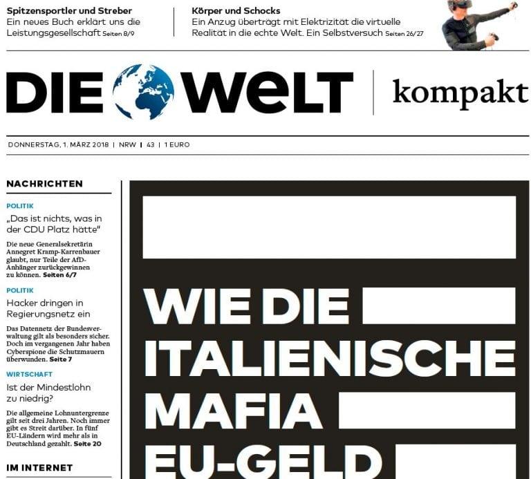 Die Welt - 01.03.2018 PDF download free