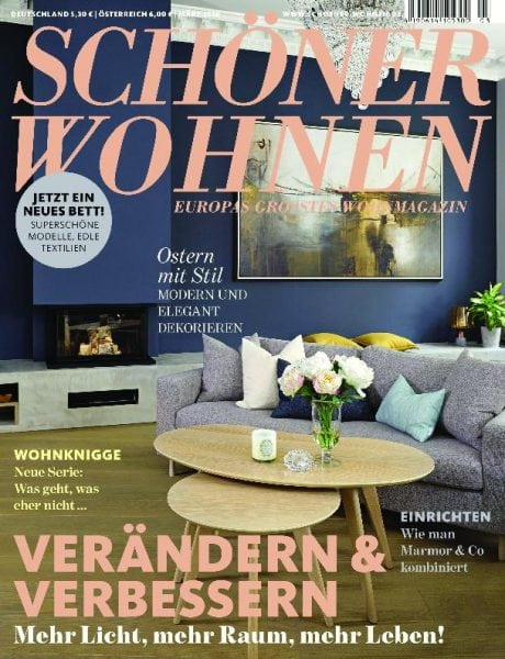 sch ner wohnen m rz 2018 pdf download free. Black Bedroom Furniture Sets. Home Design Ideas