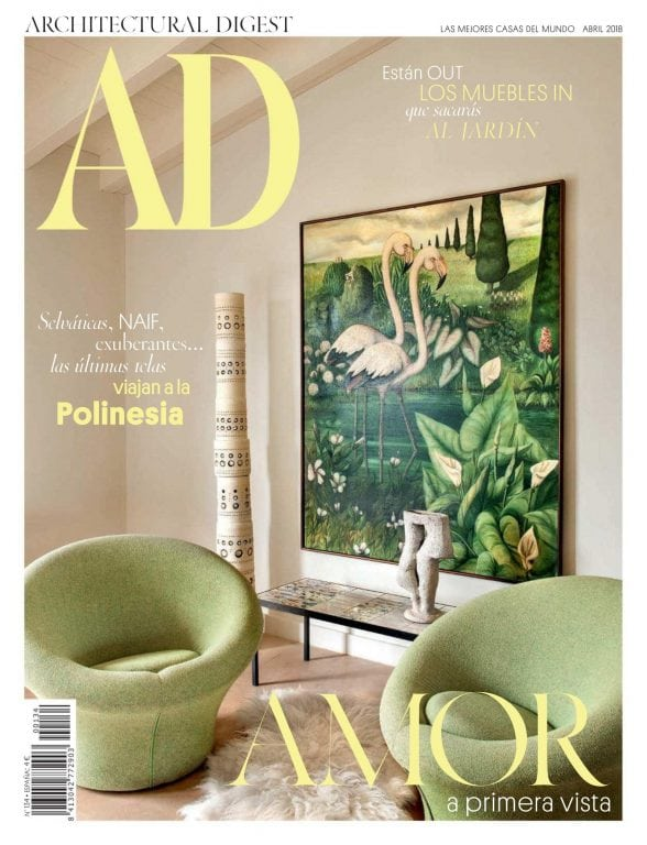 Ad architectural digest espa a abril 2018 pdf download free for Ad architects