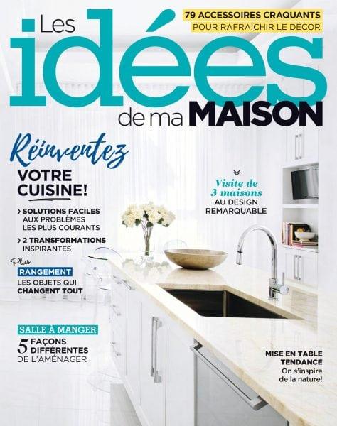Les id es de ma maison mars 2018 pdf download free for Abonnement magazine art et decoration