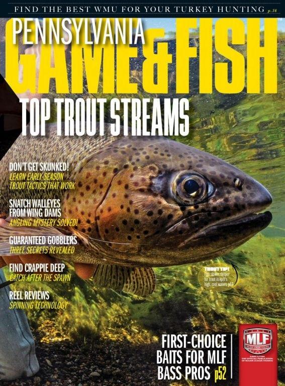 Pennsylvania game fish april 2018 pdf download free for Pa game and fish