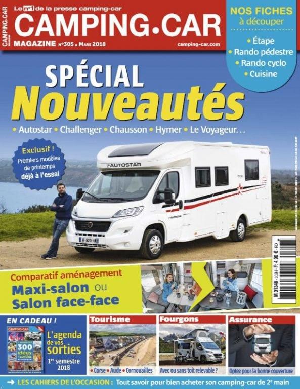 camping car magazine fevrier 2018 pdf download free. Black Bedroom Furniture Sets. Home Design Ideas