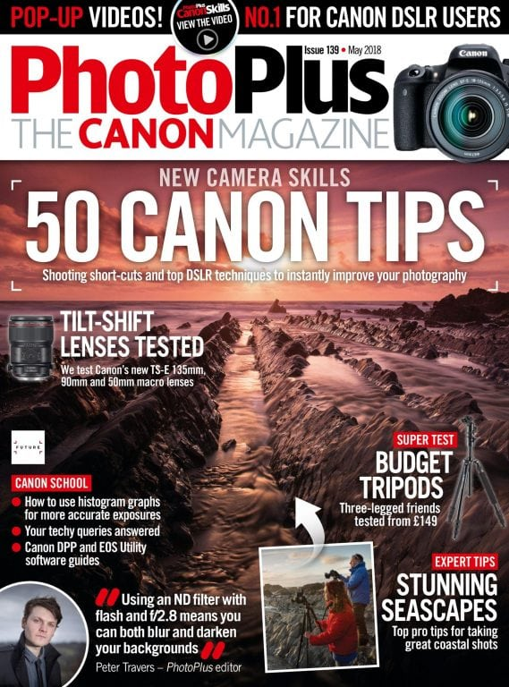 Photography magazines for canon users