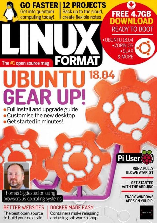 Linux Format UK - June 2018 PDF download free