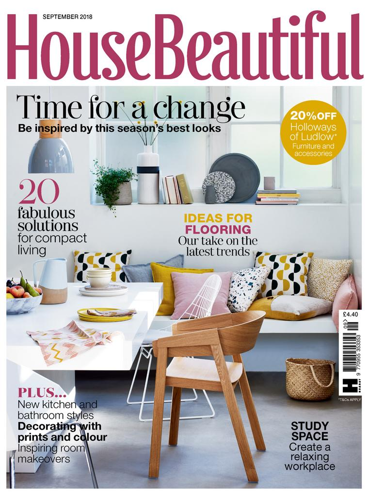 House beautiful uk september 2018 pdf download free for Free house magazines