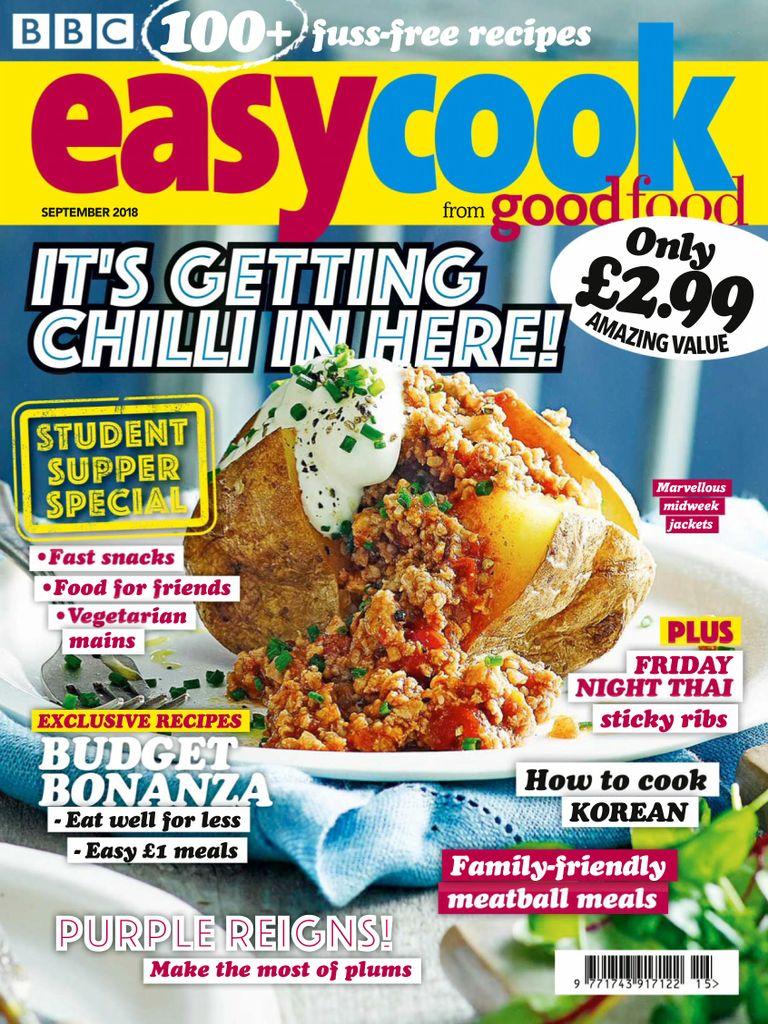 Food cooking magazines pdf download online recipes magazine bbc easy cook uk september 2018 forumfinder Images