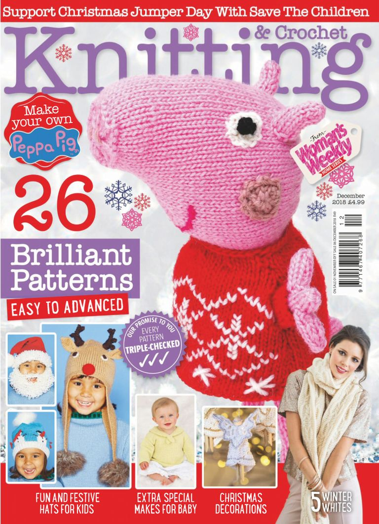 Knitting amp amp Crochet from Woman s Weekly – December 2018