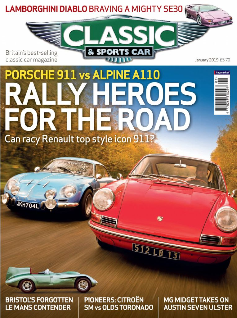 classic sports car uk january 2019 pdf download free. Black Bedroom Furniture Sets. Home Design Ideas