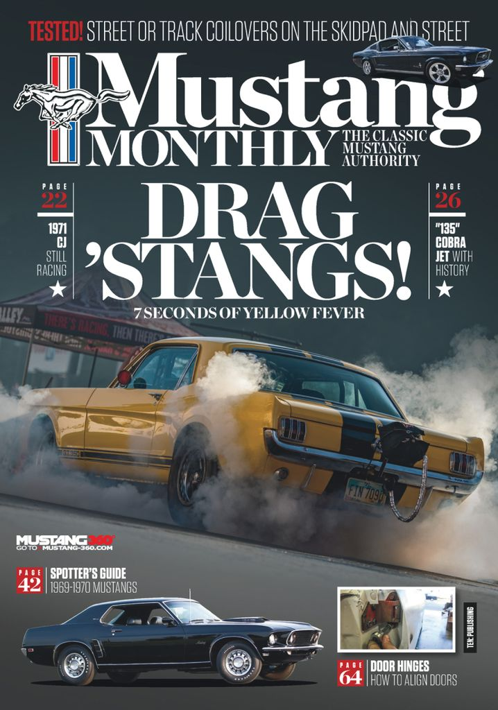 mustang monthly february
