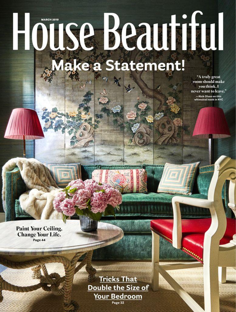 House Beautiful Usa March 2019 Pdf Download Free