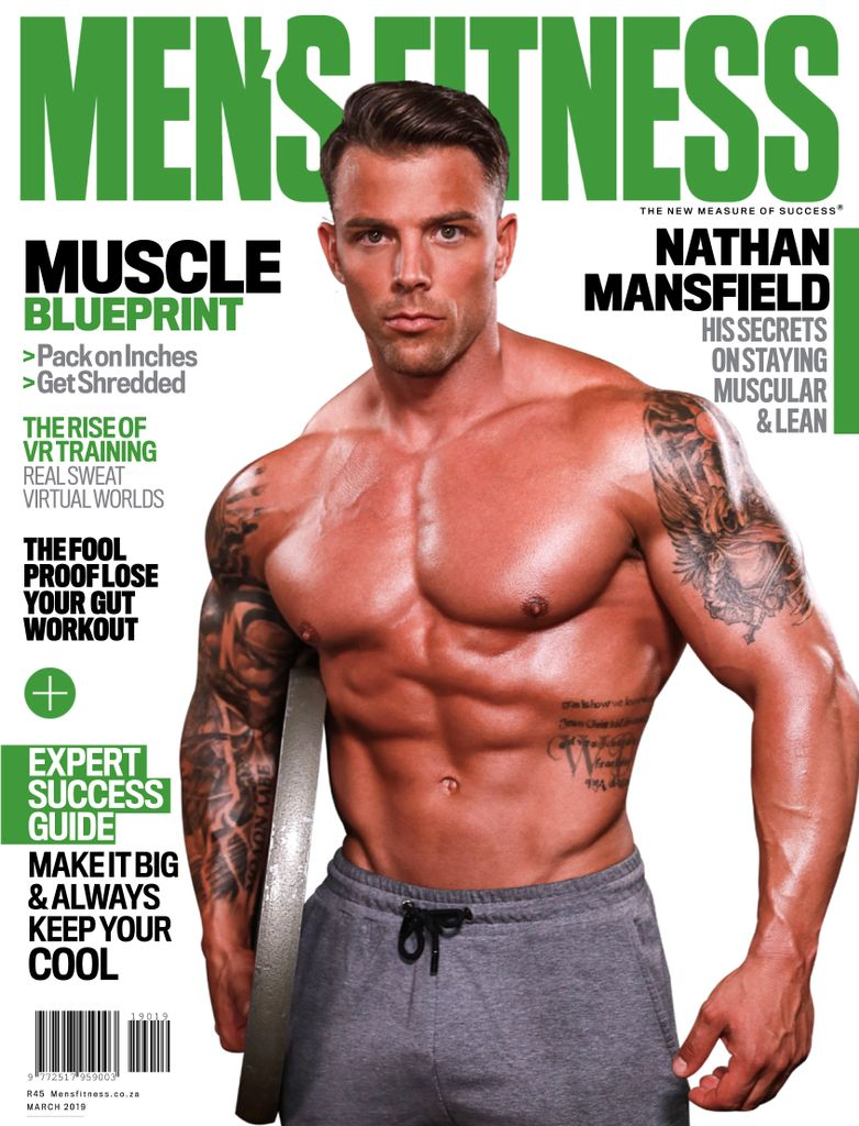 e383b99b0d6 Men s Fitness South Africa – March-April 2019