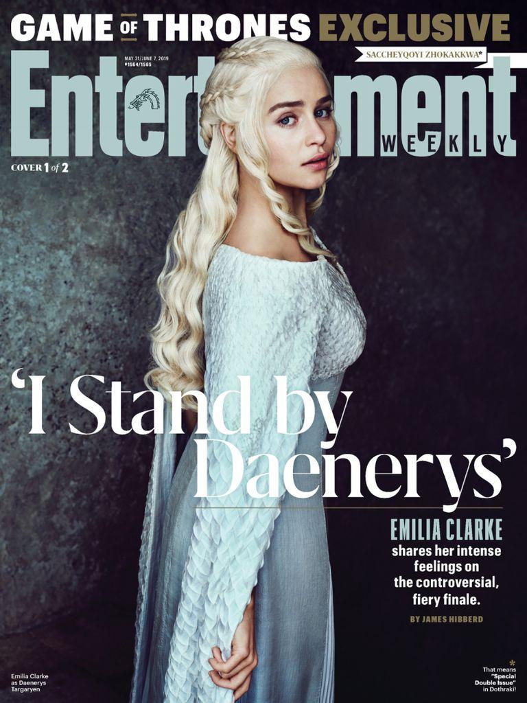 美国Entertainment娱乐周刊 5.2019封面