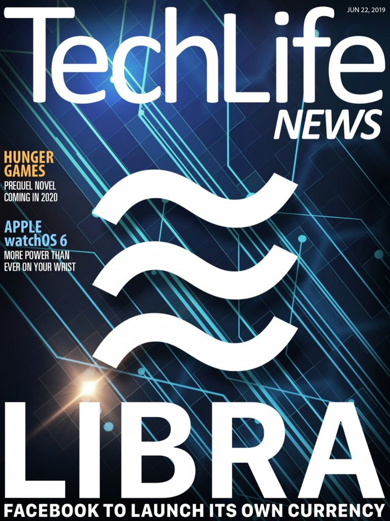 美国Techlife News 科技生活 6月 No22.2019封面