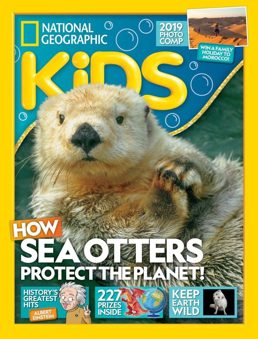 英国National Geographic Kids-国家地理儿童版 9月.2019封面