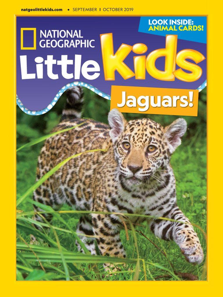 英国National Geographic Little Kids 国家地理幼儿版 9月.2019封面