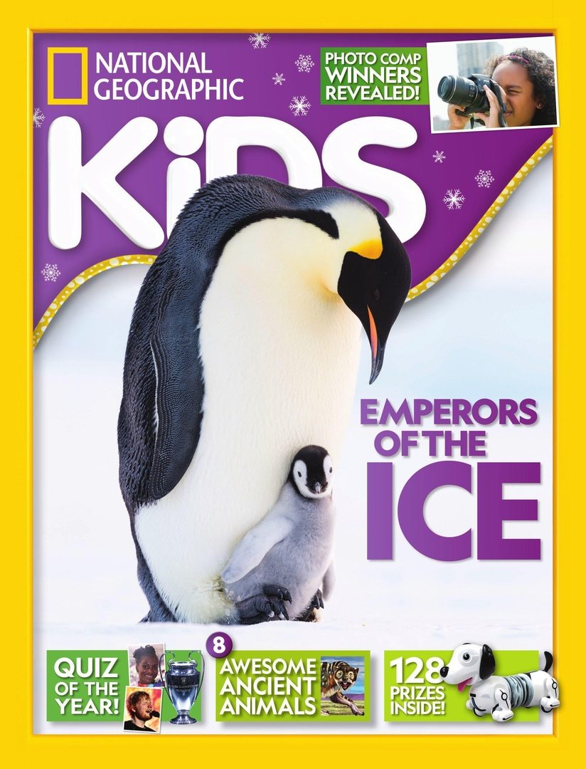 英国National Geographic Kids-国家地理儿童版 1月.2020封面