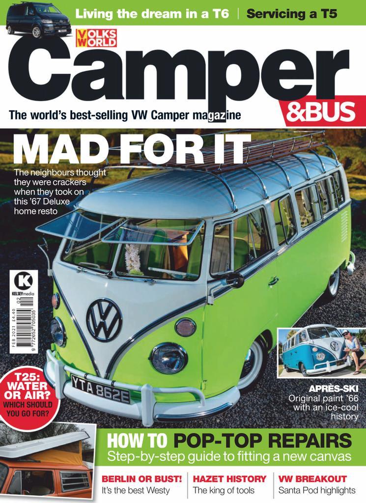 vw camper & bus - february 2021 pdf download free