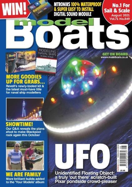 Model Boats – August 2021