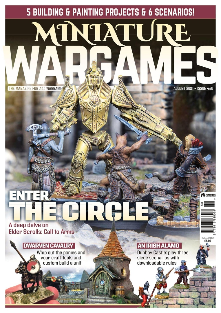 Miniature Wargames - August 2021
