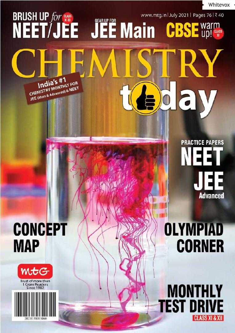 Chemistry Today – July 2021