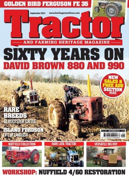 Tractor Farming Heritage Magazine – September 2021