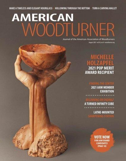 American Woodturner – August 2021
