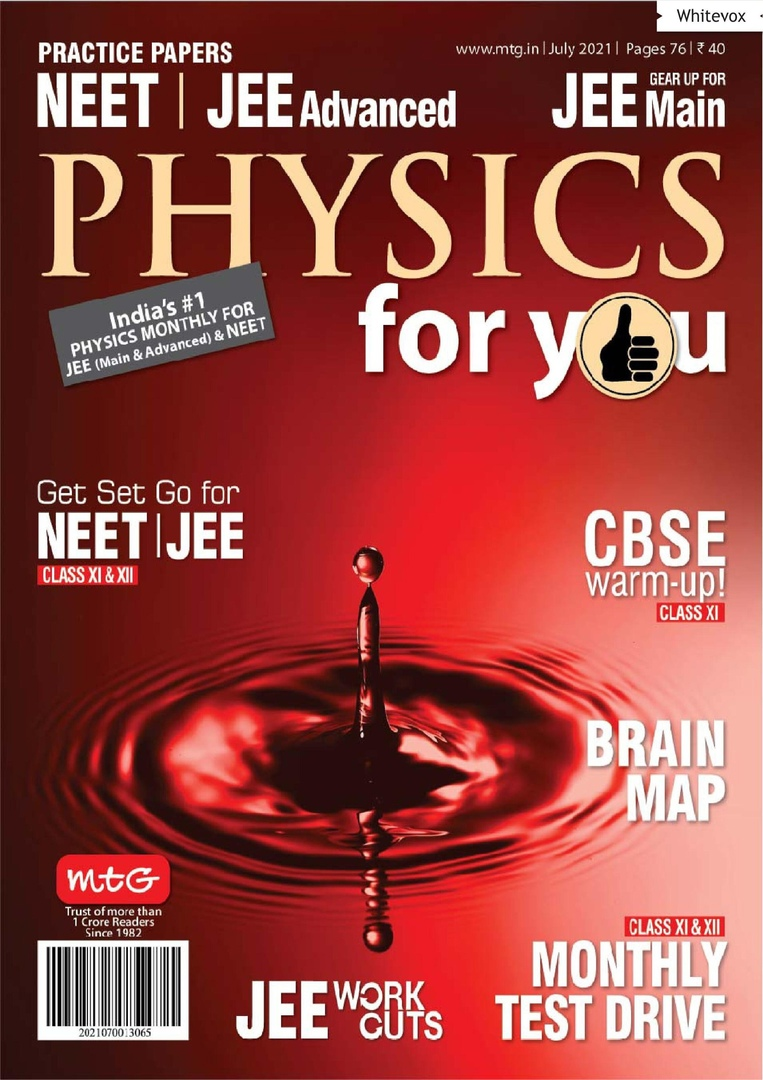 Physics For You - July 2021
