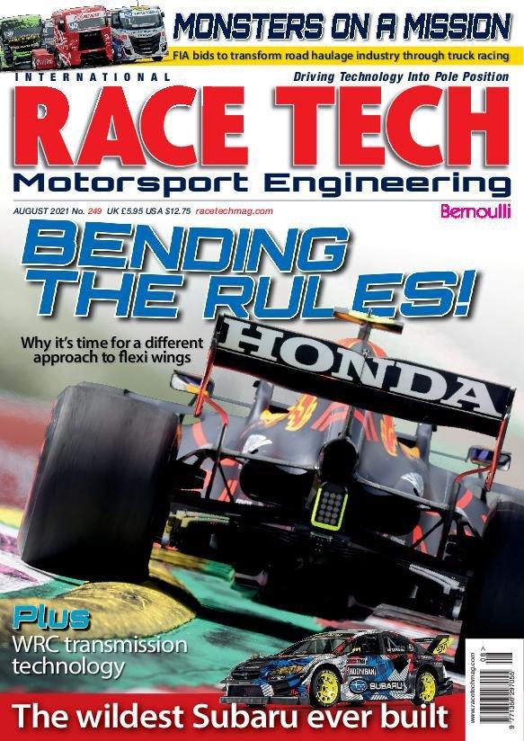 Race Tech - August 2021