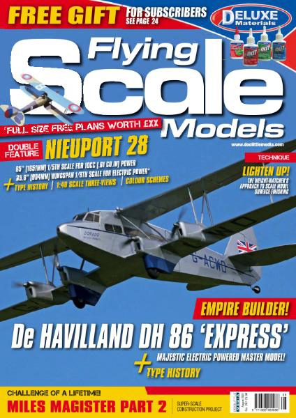 Flying Scale Models – August 2021