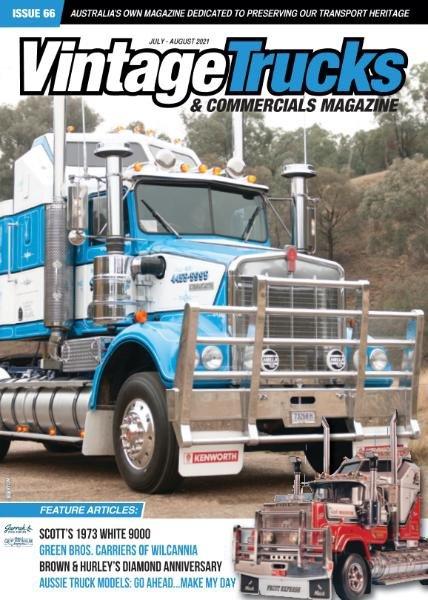 Vintage Trucks & Commercials – July-August 2021