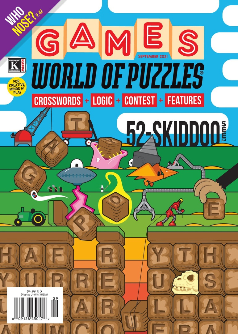 Games World of Puzzles – September 2021