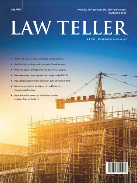 Lawteller – July 2021