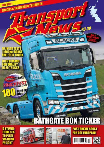 Transport News – July 2021