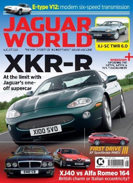 Jaguar World – August 2021