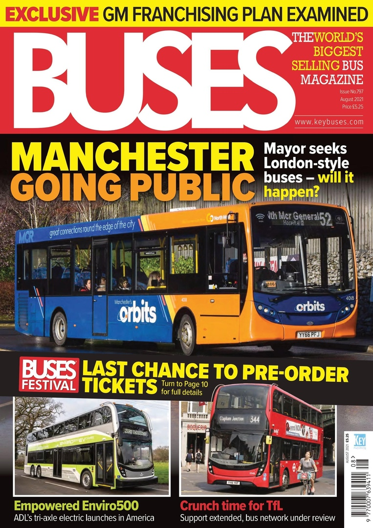 Buses Magazine – August 2021