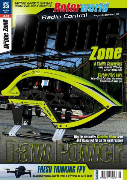 Radio Control DroneZone - Issue 33 - August-September 2021