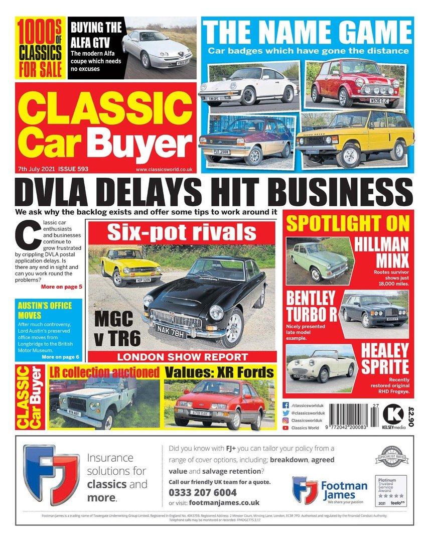 Classic Car Buyer – July 2021