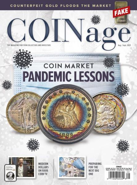 COINage – August-September 2021