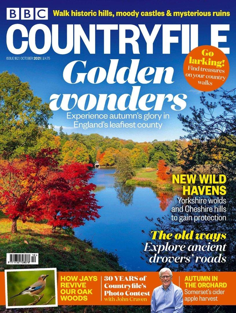 Country File,英国乡村生活,2021年,10月刊(新鲜出炉)820 作者:思秋悟春 帖子ID:264732